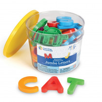 LER0450 - Jumbo Magnetic Letters 40/Pk Uppercase 2-1/2 Bucket in Magnetic Letters