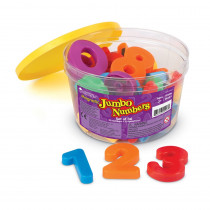 LER0452 - Jumbo Magnetic Numbers 36/Pk Operations 2-1/2 Bucket in Magnetic Letters