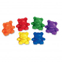 LER0729 - Counters Baby Bear 6 Colors 102-Pk in Counting