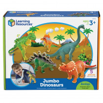 LER0786 - Jumbo Dinosaurs Set Of 5 in Animals