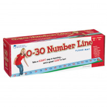LER0935 - 0-30 Number Line Floor Mat in Math