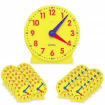 LER2102 - Classroom Clock Kit 2094 & 24 Mini Clocks in Time