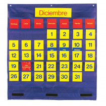 LER2210 - Bilingual Monthly Calendar Pocket Chart in Calendars