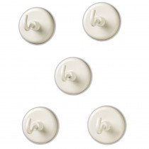 LER2698 - Magnetic Hooks Set Of 5 in Fasteners