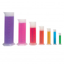 LER2906 - Graduated Cylinders 10/25/50/100/250/500/1000 Mls in Lab Equipment