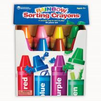 LER3070 - Rainbow Sorting Crayon in Sorting