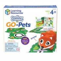 Coding Critters Go-Pets, Scrambles the Fox - LER3097 | Learning Resources | Games & Activities