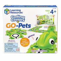 Coding Critters Go-Pets, Dart the Chameleon - LER3098 | Learning Resources | Games & Activities