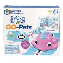 Coding Critters Go-Pets, Dipper the Narwhal - LER3099 | Learning Resources | Games & Activities