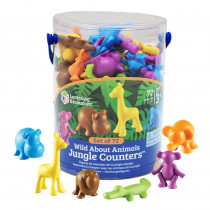 LER3361 - Wild About Animals Jungle Counters in Counting
