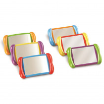 LER3371 - All About Me 2 In 1 Mirrors 6 Set in Mirrors