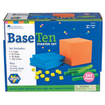 LER3551 - Base Ten Starter Set Brights in Base Ten