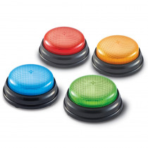 LER3776 - Lights And Sounds Buzzers Set Of 4 in Games & Activities
