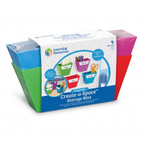 LER3807 - Magnetic Create Space Storage Bins in Storage Containers
