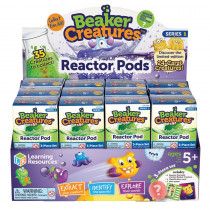 LER3818 - Beaker Creatures Reactor Pod Set Of 24 in Chemistry