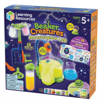 Beaker Creatures Monster Glow Lab - LER3838 | Learning Resources | Experiments
