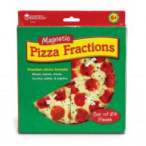 LER5062 - Magnetic Pizza Fraction Set in Fractions & Decimals