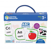 ABC Puzzle Cards - LER6085 | Learning Resources | Language Arts