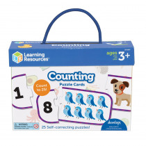 Counting Puzzle Cards - LER6087 | Learning Resources | Math