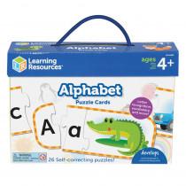 Alphabet Puzzle Cards - LER6089 | Learning Resources | Language Arts