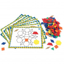 Pattern Block Design and Discover Set - LER6134 | Learning Resources | Patterning