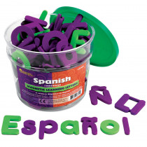 LER6305 - Spanish Magnetic Foam Learning Letters in Language Arts