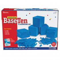 LER6358 - Interlocking Base Ten Class Set in Base Ten