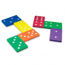 LER6380 - Jumbo Foam Dominoes Set Of 28 in Dominoes