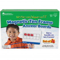 LER6645 - Magnetic Ten Frame Answer Boards in Base Ten
