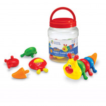 LER6701 - Snap-N-Learn  Color Caterpillars in Manipulatives