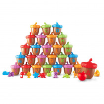 LER6802 - Alphabet Acorns Activity Set in Language Arts