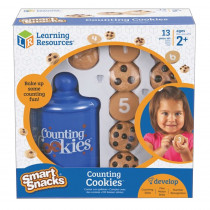 LER7348 - Smart Snacks Counting Cookies 0-10 in Math