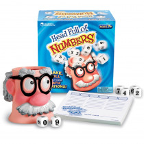 LER8898 - Head Full Of Numbers Math Game in Math