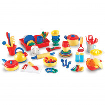 LER9157 - Pretend & Play Kitchen Set 70 Pcs in Homemaking