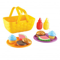 LER9266 - New Sprouts Picnic Set Set Of 15 in Play Food