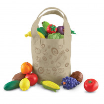LER9722 - New Sprouts Fresh Picked Fruits & Veggie Tote in Play Food