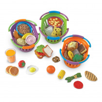 LER9733 - New Sprouts 3 Basket Bundle in Play Food