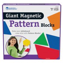 LER9863 - Giant Magnetic Pattern Blocks Set Of 47 in Patterning