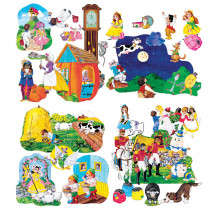 LFV22005 - Flannelboards Nursery Rhyme Complte Set in Flannel Boards