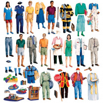 LFV22212 - Community Helpers Flannelboard Set in Flannel Boards
