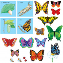 LFV22306 - Butterflies Precut Flannelboard in Flannel Boards