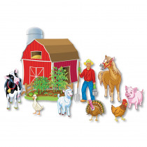 LFV22707 - Precut Old Macdonald Had A Farm in Classroom Theme