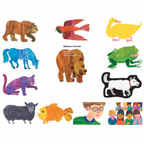 LFV22802 - Eric Carle Brown Bear Brown Bear What Do You See Flannelboard Set in Flannel Boards