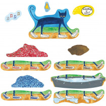 LFV22851 - Pete The Cat I Love My White Shoes Flannelboard Set in Flannel Boards
