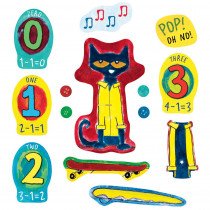 LFV22852 - Pete The Cat And His Four Groovy Buttons Flannelboard Set in Flannel Boards