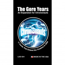 Chrononauts The Gore Years Expansion Pack - LLB041 | Looney Labs | Games