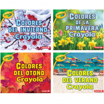 LPB154155504X - Crayola Seasons Books Spanish Set Of 4 in Books
