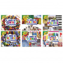 LPB1541555058 - Crayola Concepts Books Spanish Set Of 6 in Books
