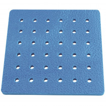 LR-2422 - Tall-Stacker Pegboard Big-Little 8 Inches 36 Holes Pegboard Only in Pegs