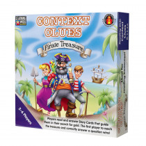 LRN301 - Context Clues Pirate Treasure Blue in Language Arts